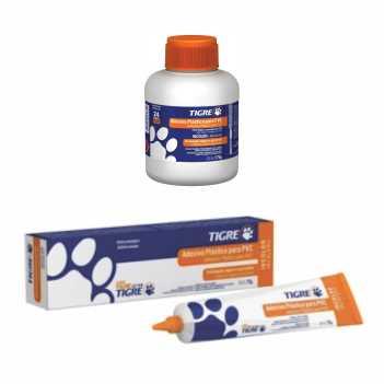 Adesivo PVC 850g Incolor - Ref.53020178 - TIGRE