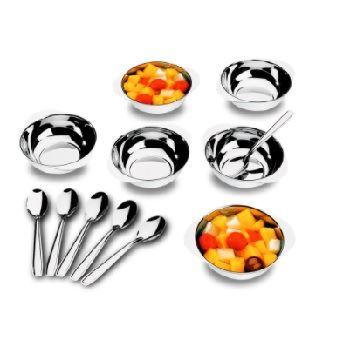 Kit de Sobremesas em Aço Inox 12 Peças Jornata - Ref.1636/112 - BRINOX