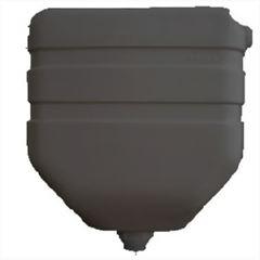 Caixa Descarga Plástica 6 litros Cinza - Ref.19 - GRANPLAST