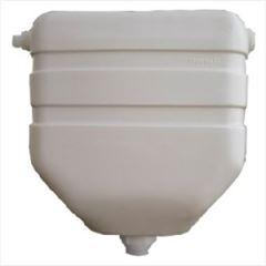 Caixa Descarga Plástica 6 litros Cinza Claro - Ref.20 - GRANPLAST