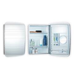 Armário para Banheiro Inox 39X53,5 de Sobrepor Cris Mol 1 Porta - Ref.00000001112-6 - CRISMETAL