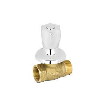 Registro de Pressão Metálico 3/4 V50 Cromado - Ref. 1416 3/4 V-50 - KELLY METAIS