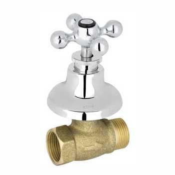 Registro de Pressão Metálico 1/2 Sleek V44 Cromado - Ref. 1416 1/2 V-44 - KELLY METAIS