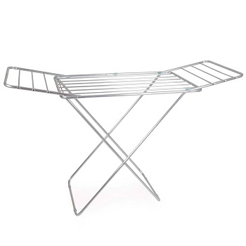 Varal de Chão em Alumínio 91x153x56cm com Abas - Ref.006032 - MOR
