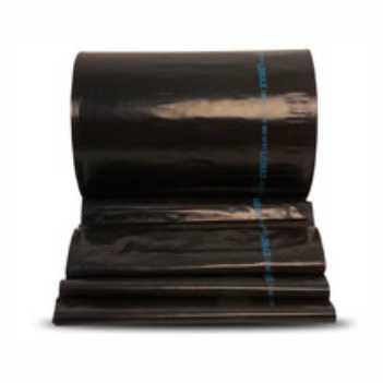 Lona Plástica 8x100m 80kg Preta - Ref.002055 - LONAX