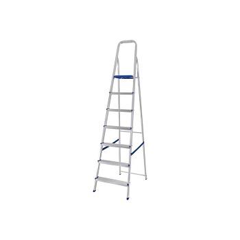 Escada de Alumínio 7 Degraus Tesoura - Ref. 005105 - MOR