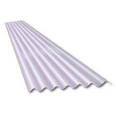 Telha Translúcida Polipropileno 2,44x0,50 1,1mm Perfil 75 - Ref.57 - GRANPLAST