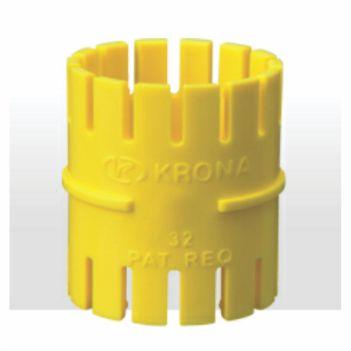 Luva Pressão Pvc 25MM Eletroduto Corrugado - Ref. 1246 - KRONA