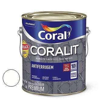 Zarcão Coralit Antiferrugem Branco 3,6 Litros - Ref. 5203029 - CORAL