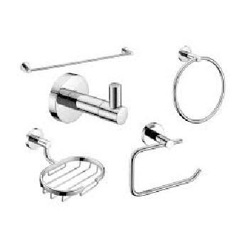 Kit Acessórios para Banheiro com 5 Peças City - Ref. B8007C2CR0 - CELITE