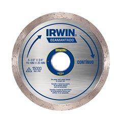 Disco Diamantado 110x20mm Contínuo - Ref. IW13891 - IRWIN