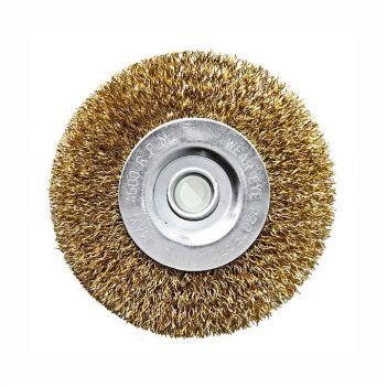 Escova Aço Carbono 6x1/2x1/2 Circular G - Ref. 6326000612 - DISMA