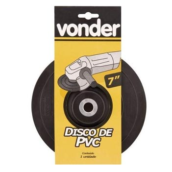 Disco Borracha 7 Flex - Ref. 6099007000 - VONDER
