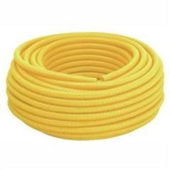 Eletroduto Corrugado PVC 20mm 50m Amarelo - Ref.1230 - KRONA