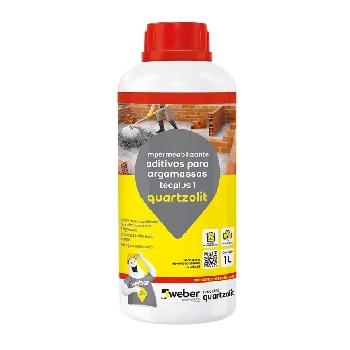 Impermeabilizante 1Litro Concreto Argamassa Tecplus1 - Ref.33217.14.34.052 - QUARTZOLIT