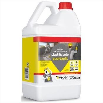Aditivo Plastificante 3,6Litros - Ref.30380.03.30.008 - QUARTZOLIT