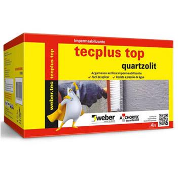 Impermeabilizante 4kg Tecplus Top - Ref.33225.10.34.051 - QUARTZOLIT
