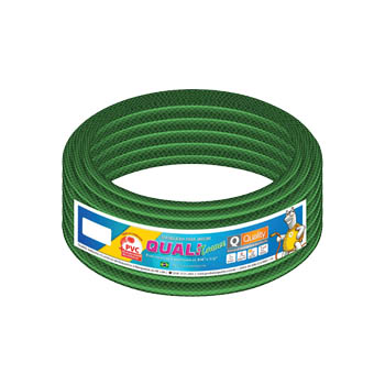 Mangueira PVC 1/2 15m Jardim Qualitrance Verde - Ref. JJQ005009 - QUALITY