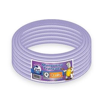 Mangueira PVC 1/2 50m Trançada PT 250 - Ref. MRL001018 - QUALITY