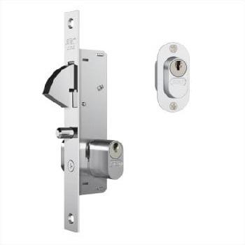 Fechadura Alumínio Porta Correr Espelho 901 Inox - Ref.35067 - STAM