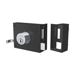 Fechadura Sobrepor Portão Espelho 701/100 Inox - Ref.10417 - STAM