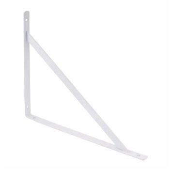 Suporte Prático Mão Francesa Aço 30cm Branco - Ref.3295030001 - DISMA