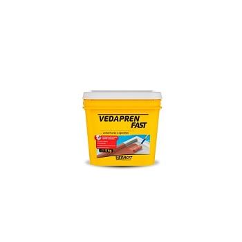 Impermeabilizante Vedapren Fast Líquida 5kg Branca - Ref. 121711 - VEDACIT
