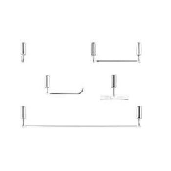 Kit Acessórios para Banheiro Metal 5 Pecas Idea Cromado - Ref. 586306 - DOCOL