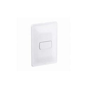 Interruptor 4x2 1 Tecla Intermediário 10A Zeffia Branco - Ref. 680119 - PIAL