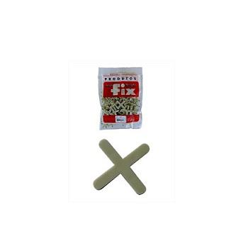 Espaçador Piso/Azulejo 4mm 100 Peças - Ref.31-E4 - FIX ALL