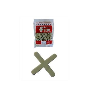 Espaçador Piso/Azulejo 2mm 100 Peças - Ref.31-E2 - FIX ALL