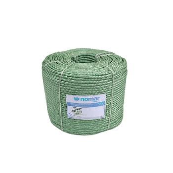 Corda Poliéster 08MM Trançada Pet Verde - Ref. 45208031 - RIOMAR