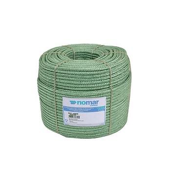 Corda Poliéster 10MM Trançada Pet Verde - Ref. 45210031 - RIOMAR