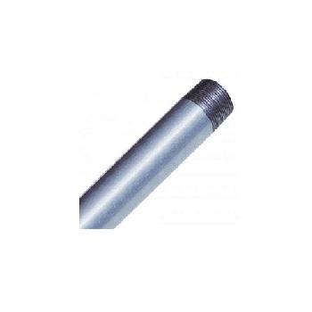 Tubo Aço 1 3m Roscado Leve Pressão Zincado - Ref.001170 - ELECON