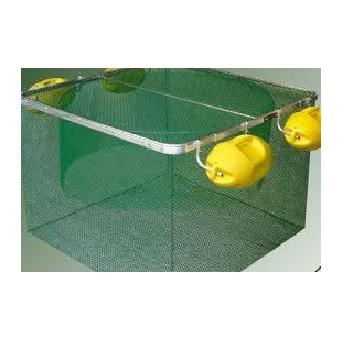 Tela Plástica para Piscicultura 1,00m N7 Verde - Ref.MT9380 - ROMA
