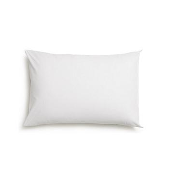 Fronha de Algodão 50x70cm Prata Branco - Ref. PRA15FRAM0001 - SANTISTA