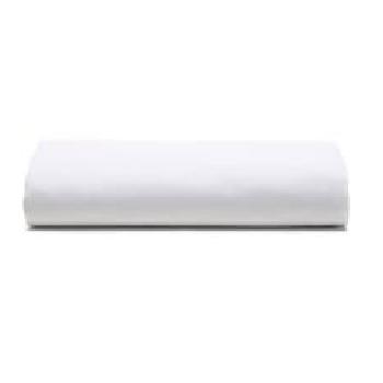 Lençol de Algodão Casal 140x190cm Royal com Elástico Branco - Ref.ROYAPLECM001 - SANTISTA