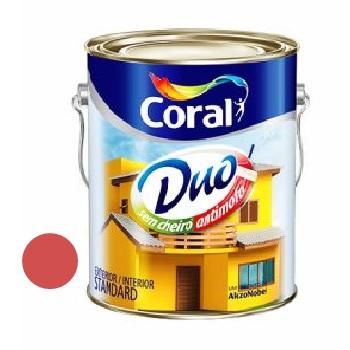 Tinta Acrílica Fosca Coralar Duo Rubi 3,6L - Ref. 5207308 - CORAL