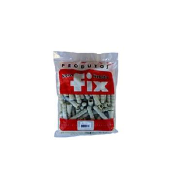 Bucha Fixação Polietileno D14 Saco com 100 Peças - Ref.1.7G - FIX ALL