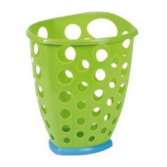 Cesto Plástico 6,9 Litros Telado Triangular Verde - Ref.002633 - PLASÚTIL