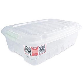 Caixa Plástica Baixa 26,5 Litros Gran Box - Ref.002772 - PLASUTIL