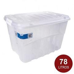 Caixa Plástica Alta 78 Litros Gran Box - Ref.002761 - PLASUTIL