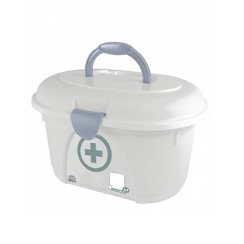 Caixa Plástica 5,4 Litros Mini Box Farmácia - Ref.004760 - PLASUTIL