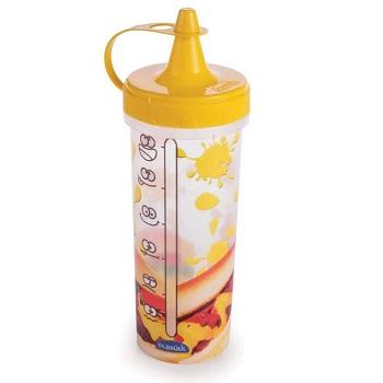 Bisnaga de Plástico para Mostarda 280ml Amarelo - Ref.005729 - PLASÚTIL