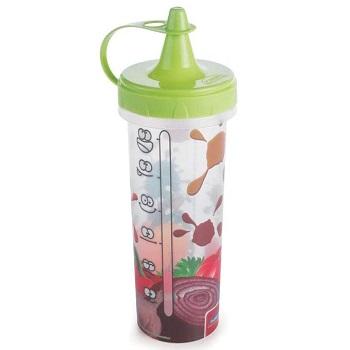 Bisnaga de Plástico para Molhos 280ml Verde - Ref.005730 - PLASÚTIL