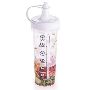 Bisnaga de Plástico para Maionese 280ml Branco - Ref.005748 - PLASÚTIL