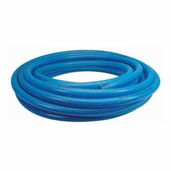 Mangote PVC 1 polegada Sucção de Água Espiral Azul - Ref. 2721-1 - PERFILNOR