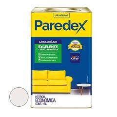Tinta Acrílica Fosca Paredex Gelo 18 Litros - Ref. 5206987 - CORAL