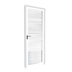 Porta Alumínio 70x210 Lado Direito Veneziana MCPVNT003 - Ref. EMC005007 - QUALITY