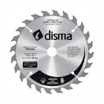 Disco Serra 24D 185mmx20 - Ref. 4660185024 - DISMA